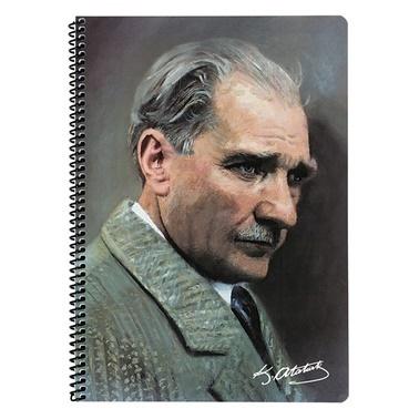 Keskin Color Atatürk A4 Çizgili 80 Yaprak Defter Renkli